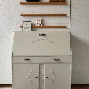 Toffe vintage secretaire H 115 x B 100 x D 34 foto